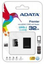 Atminties kortelė Adata microSDHC 32GB UHS1 + Mikroskaitytuvas