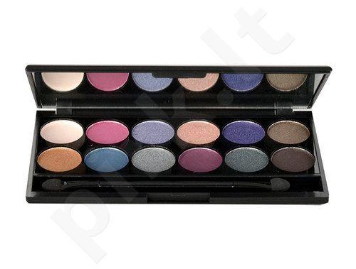 Sleek MakeUP I-Divine akių šešėliai Palette, kosmetika moterims, 13,2g, (098 Enchanted Forest)