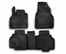 Guminiai kilimėliai 3D RENAULT Kangoo 2007->, 4 pcs. /L54016
