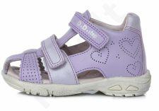 D.D. step violetinės basutės uždaru priekiu 25-30 d. ac2907035bm