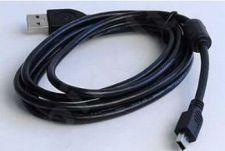 Gembird AM-BM5Pin (Canon) kabelis mini USB 2.0 1.8M feritas
