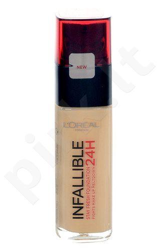 L´Oreal Paris Infallible Make-Up 24H, kosmetika moterims, 30ml, (120 Vanilla)
