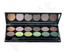 Sleek MakeUP I-Divine akių šešėliai Palette, kosmetika moterims, 13,2g, (447 Garden Of Eden)