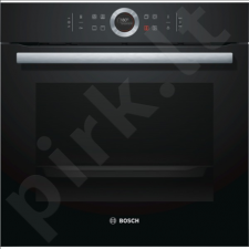 Bosch HBG633CB1S Multifunction Oven, 71L, 10 functions, TFT display control, EC A+, EcoClean, 4D Hot Air, Black