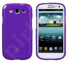 Samsung Galaxy S3 dėklas JELLY Mercury violetinis