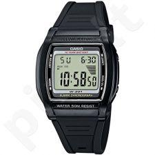 Casio Collection W-201-1AVEF vyriškas laikrodis-chronometras