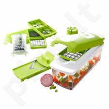 Patogi ir funkcionali vaisių ir daržovių pjaustyklė