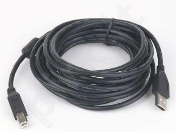 Gembird AM-BM kabelis USB 2.0 1.8M High Quality,feritas