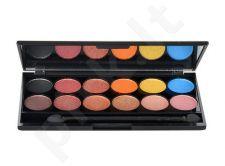 Sleek MakeUP I-Divine akių šešėliai Palette, kosmetika moterims, 13,2g, (568 Sunset)