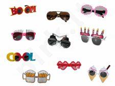 Linksmieji vakarėlių akiniai