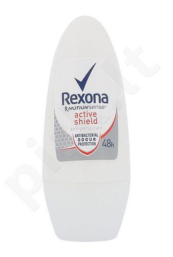 Rexona Active Shield 48h Anti-Perspirantas Roll-on, kosmetika moterims, 50ml