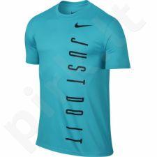 Marškinėliai treniruotėms Nike Legend 2.0 Vertical Just Do It Tee M 779174-418