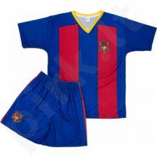 Komplektas futbolininkui Reda FC Barcelona Messi 10 Junior tamsiai mėlyna-raudonas