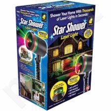 Lazerinis Šviesos Efektų Projektorius Star Shower MOTION