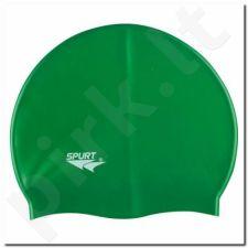 Maudymosi kepuraitė silikoninė SPURT SH74 ciemnožalia