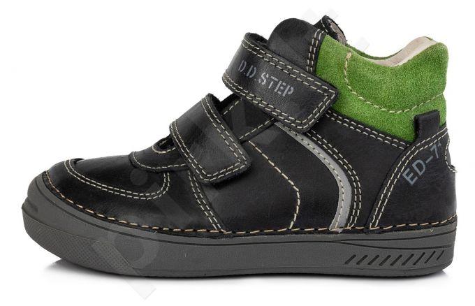 D.D. step juodi batai 31-36 d. 040443bl