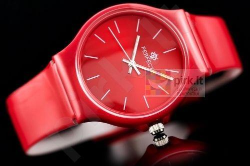 Raudonas Perfect laikrodis PF50R