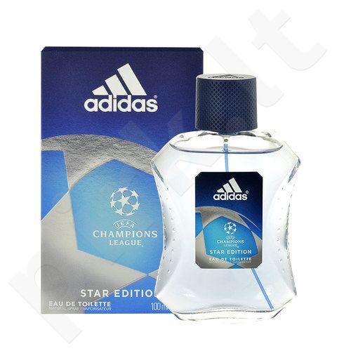 Adidas UEFA Champions League Star Edition, EDT vyrams, 100ml