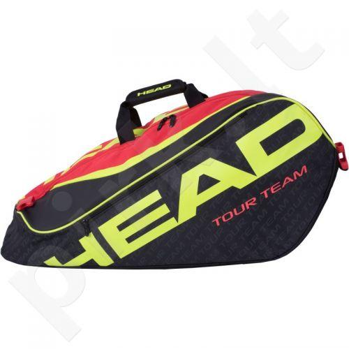 Krepšys tenisui Head Extreme 12R Monstercombi 283216 juoda-raudona