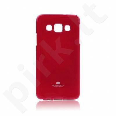 Samsung Galaxy A3 dėklas JELLY Mercury raudonas