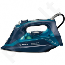 Bosch TDA703021A Steam Iron, 3000W, CeraniumGlissée soleplate, 2.5m cord, 3AntiCalc System, AntiShine, SensorSecure