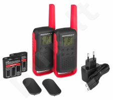 Motorola T62 short-wave radio, 8km, Red