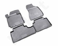 Guminiai kilimėliai 3D KIA Sportage 2006-2010, 4 pcs. /L38057G /gray