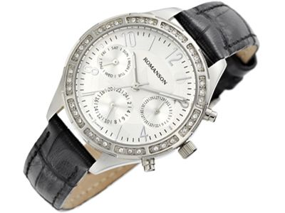 Romanson Sports RL4261FL1WAS2W moteriškas laikrodis