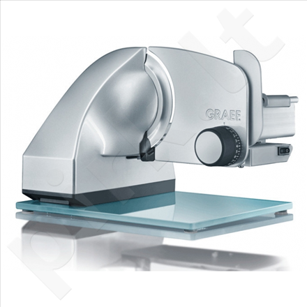 GRAEF. EVO E20 Universal Slicer, 170W, Adjustable cutting from 0-20mm, Blade diameter 170mm