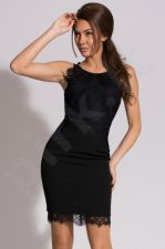 Emamoda suknelė - juoda 9905-1