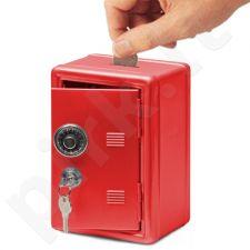 Metalinis seifas - taupyklė (su raktu ir kodu)