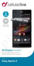 Sony Xperia Z ekrano plėvelė  OK DISPLAY Cellular permatoma