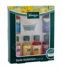 Kneipp Bath Oil, rinkinys vonios aliejus moterims, (Anti-Stress 20 ml + Almond Blossom 20 ml + Calm Mind 20 ml + Secret of Beautiful 20 ml + Good Old Times 20 ml + Lemon Balm 20 ml)
