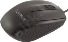 Optinė pelė EXTREME USB BUNGEE 3D| 1000 DPI |Juoda