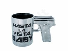 Puodelis - šautuvas (Hasta la vista, BABY)