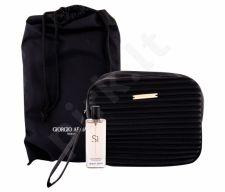 Giorgio Armani Si, rinkinys kvapusis vanduo moterims, (EDP 15 ml + kosmetika krepšys)