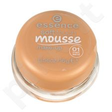 Essence Soft Touch Mousse Make-up, kosmetika moterims, 16g, (01 Matt Sand)