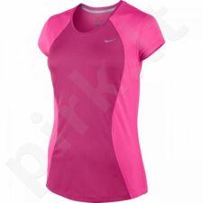 Marškinėliai bėgimui  Nike Racer Short Sleeve W 645443-616