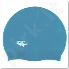 Maudymosi kepuraitė silikoninė SPURT SC12 jasnomėlynas