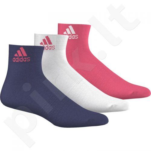 Kojinės Adidas Per Ankle 3 poros AA5470