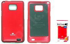 Samsung Galaxy S2 dėklas JELLY Mercury raudonas