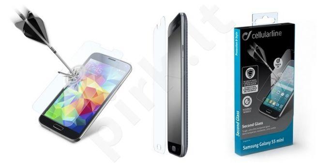 Samsung Galaxy S5 ekrano stiklas SECOND GLASS Cellular permatomas