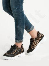 SHELOVET  Sneakersai Laisvalaikio batai ANIMAL PRINT