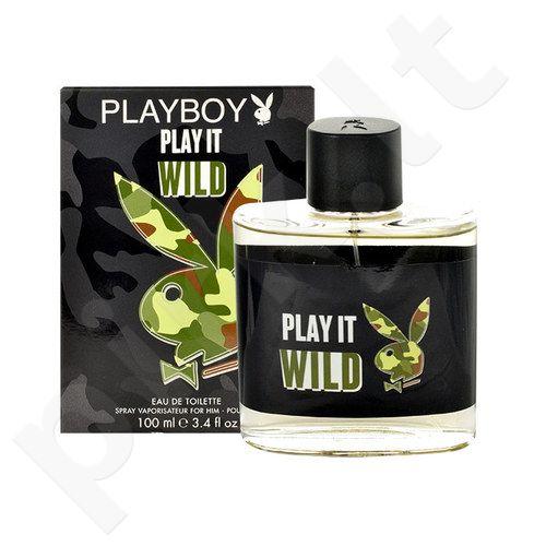 Playboy Play It Wild, EDT vyrams, 100ml
