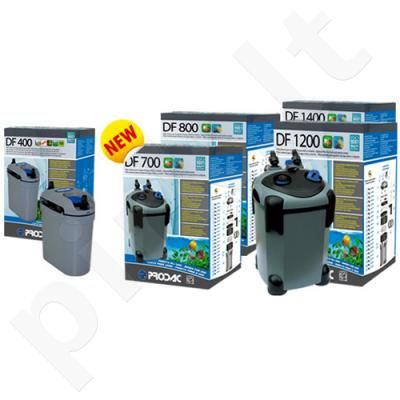 Išorinis filtras DF-400, 20-50L akv. Be UV