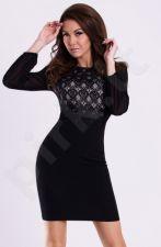 Emamoda suknelė - juoda 12003-2