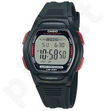 Casio Collection LW-201-4AVDF moteriškas laikrodis-chronografas