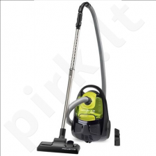 Rowenta RO2522WA Bagless vacuum cleaner, Power 1200 W, Green/Grey
