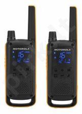 Motorola T82 Extreme portatyvios radio stotelės, 10km, 8kanalai