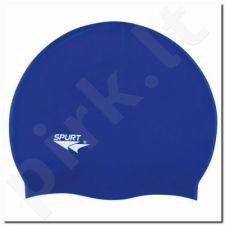 Maudymosi kepuraitė silikoninė SPURT SH71 mėlynas połysk